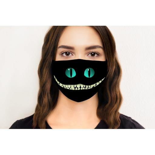 Cat Smile Face Mask