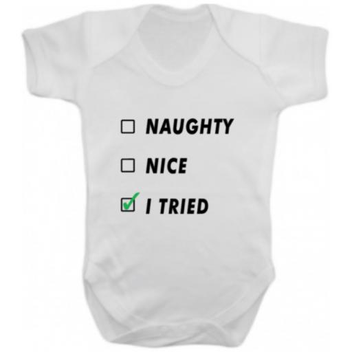 Naughty Nice I Tried Heat Transfer Vinyl