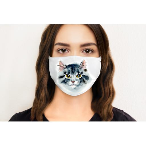 Cat 1 Face Mask