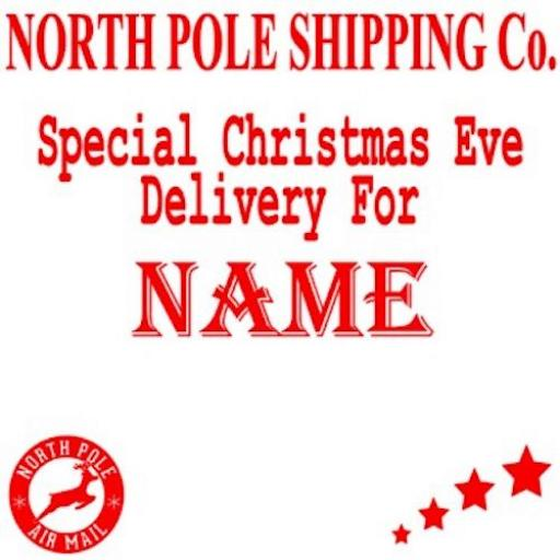 Christmas Eve Box V3 Decal / Sticker/ Graphic