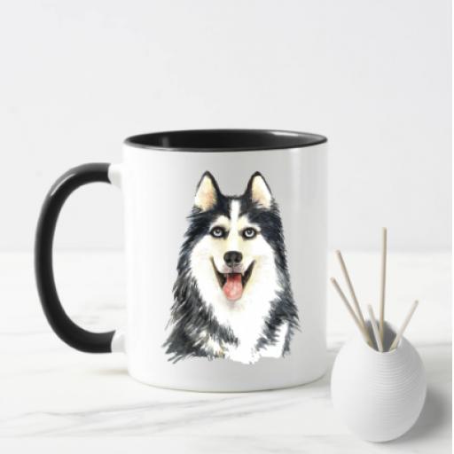 Siberian Husky V2 Dog Mug