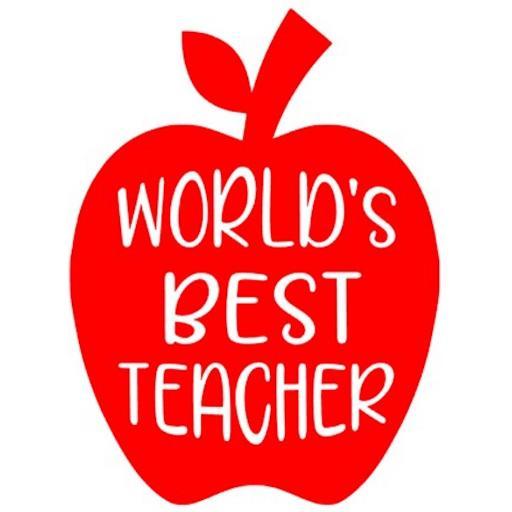 World's Best Teacher Heat Transfer Vinyl