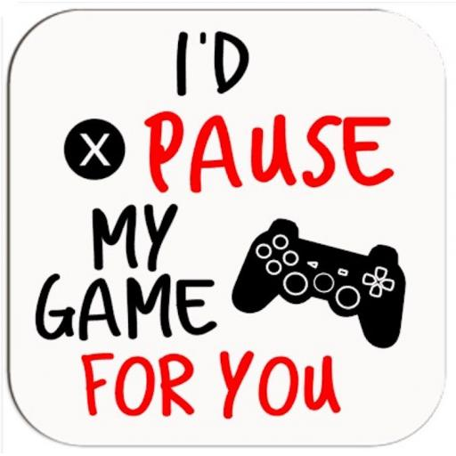 I'd pause my game for you Coaster