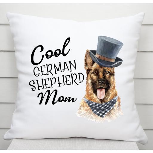 Cool German Shepherd Mom Cushion Cover