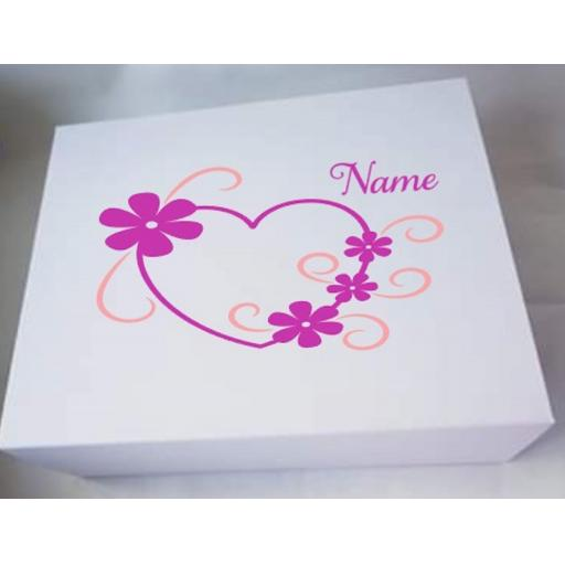Mother's Day Personalised Box Decal / Sticker / Graphic
