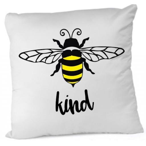 Bee Kind Cushion Cover