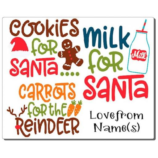 Cookies for Santa V3 Placemat