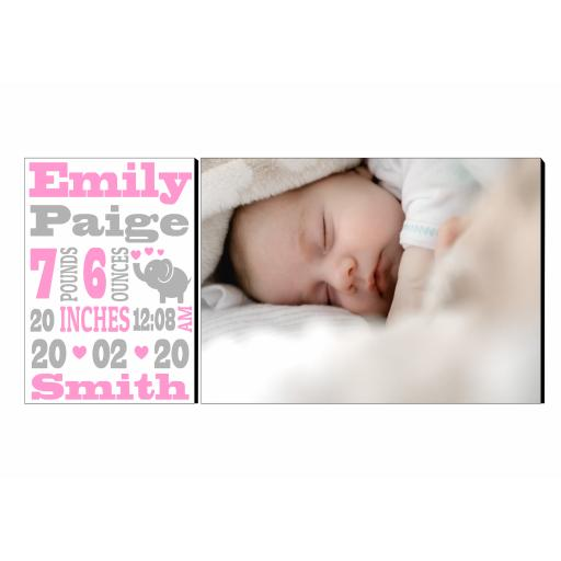 Baby Birth Rectangular Display Panel