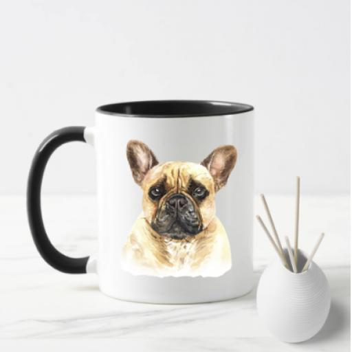 French Bulldog Dog Mug