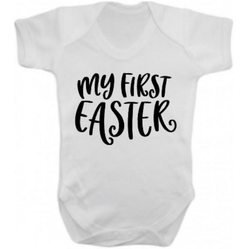 My first Easter Short Sleeved Body Suit