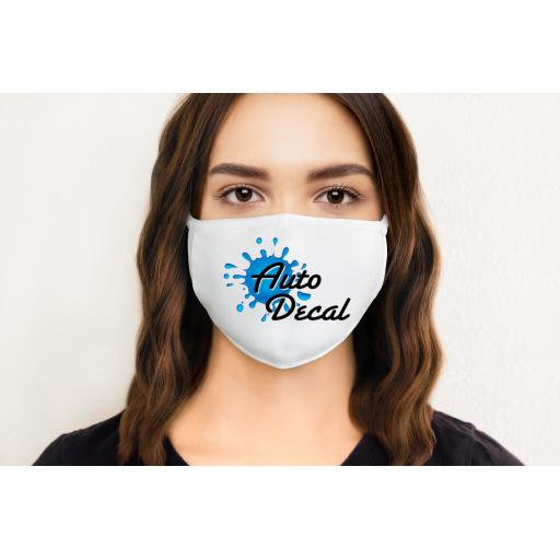 Company Logo Face Mask