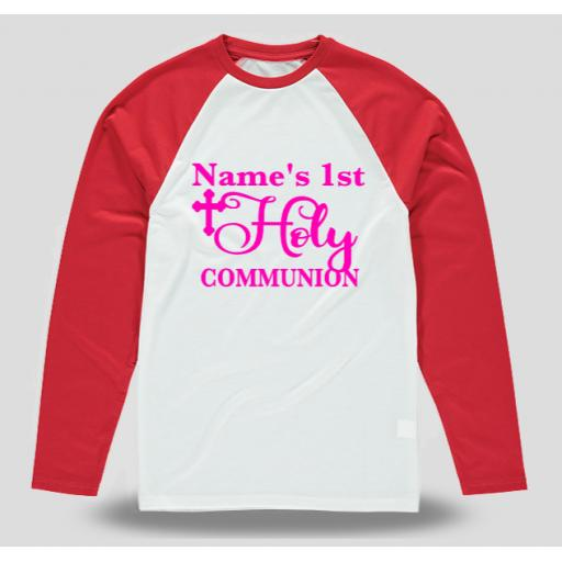 Holy Communion (Personalised) Heat Transfer Vinyl