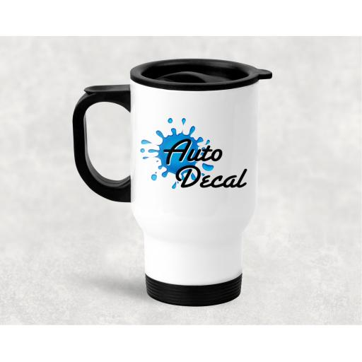 Company Logo Travel Mug