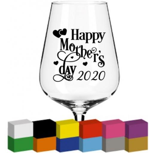 Happy Mother's Day 2020 Glass / Mug / Cup Decal / Sticker / Graphic