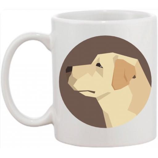 Labrador Head Dog Mug