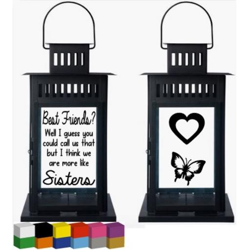 Best Friends Lantern Decal / Sticker / Graphic