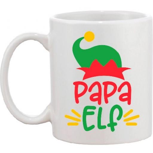 Elf Mug Mama, Papa, Baby, Mini or Elf Squad