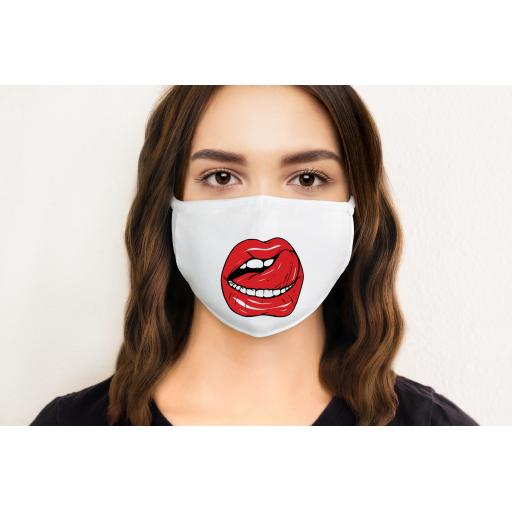 Lips 4 Face Mask