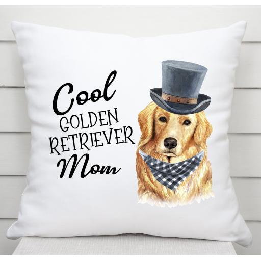 Cool Golden Retriever Mom Cushion Cover