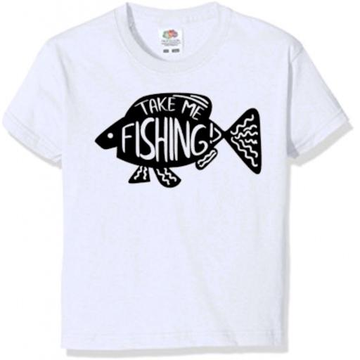 Take Me Fishing T-shirt