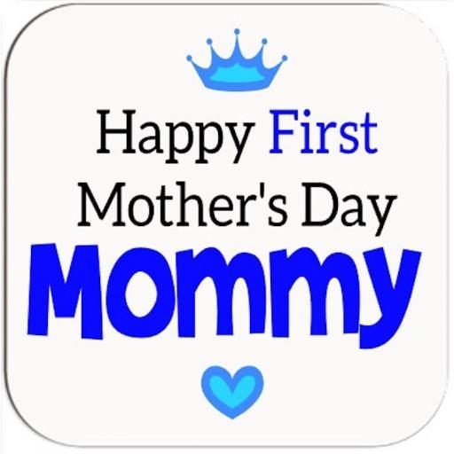Happy 1st Mother's Day V2 Coaster
