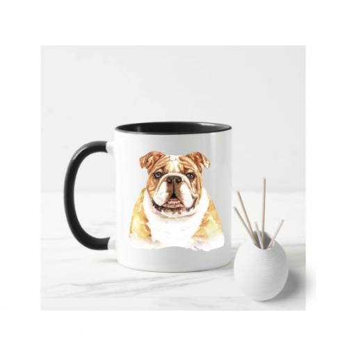 Bulldog V2 Dog Mug