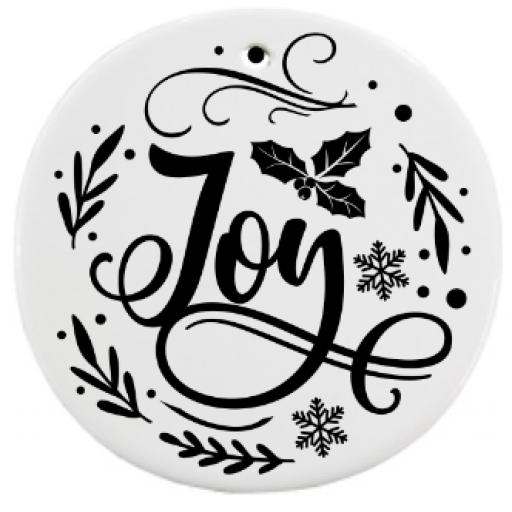 Joy Bauble Sticker / Decal / Graphic