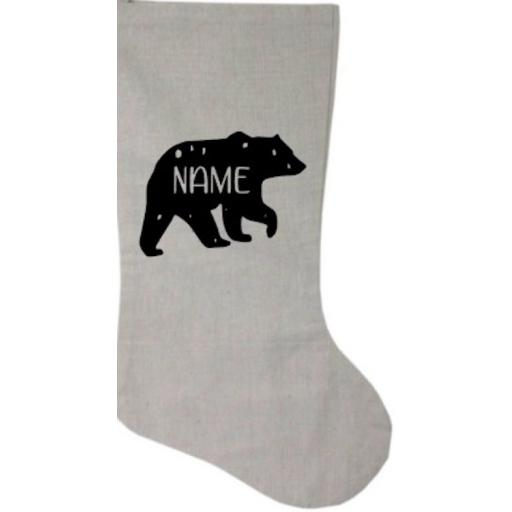 Bear Personalised Heat Transfer Vinyl