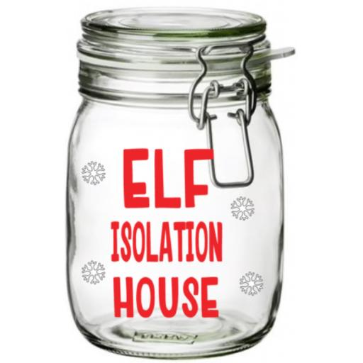 Elf Isolation House Vinyl Sticker / Decal / Graphic