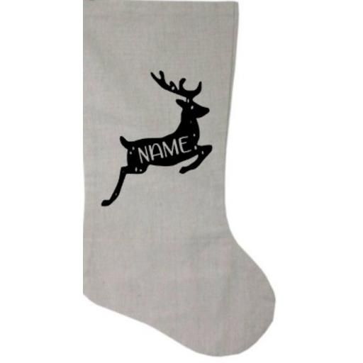 Reindeer Personalised Heat Transfer Vinyl