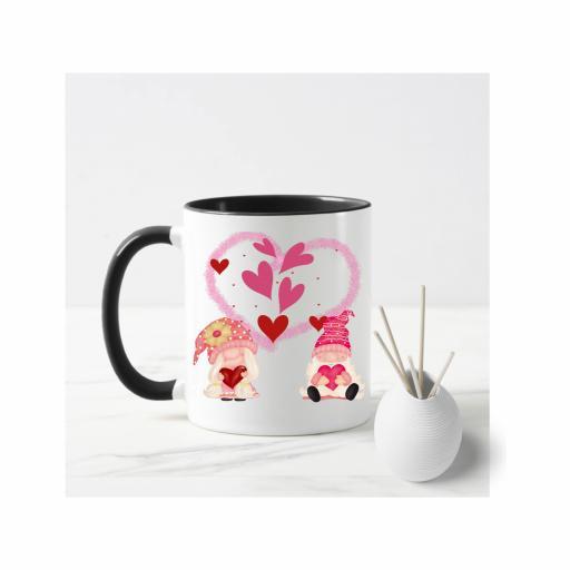 Valentine Gnome Mug