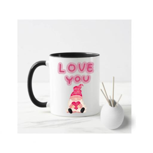 Love You Male Gnome Mug
