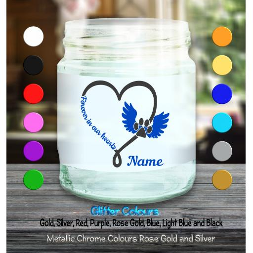 Forever in our hearts blue candle.png
