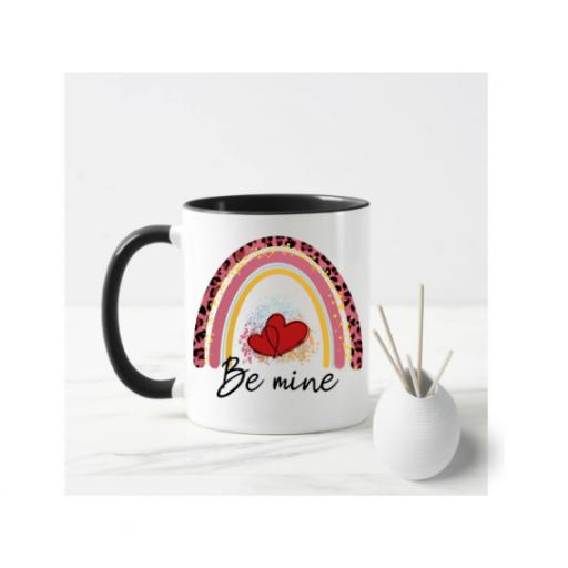 Be Mine Rainbow Mug