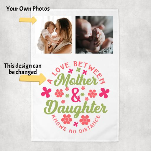 Mother's Day Tea Towel with Photos