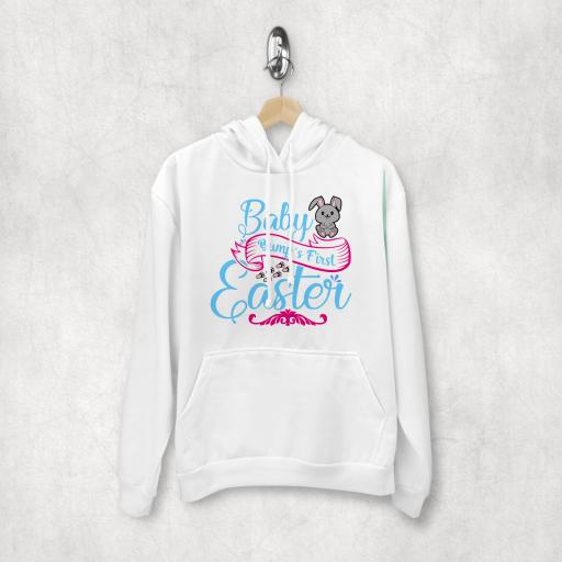Baby Bumps First Easter Hoodie