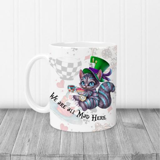Cheshire Cat We are all mad Here Design