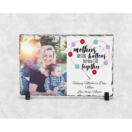 Mothers Day Photo Slate