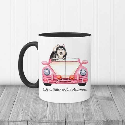 Life is better with a Malamute Mug