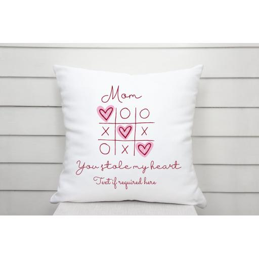 Mom you stole my heart Cushion Cover