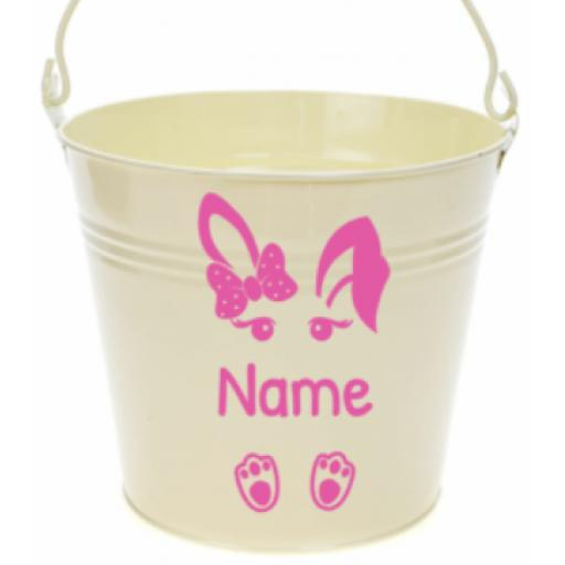 Easter Bunny Vinyl Personalised, Decal / Sticker