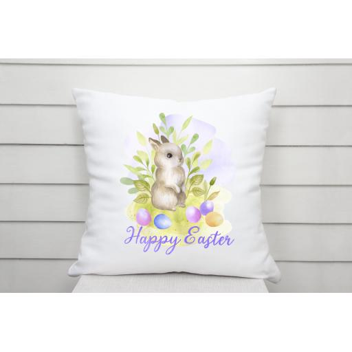 Happy Easter Bunny Cushion Cover