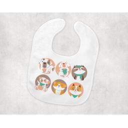 six baby animals BabyBib.png