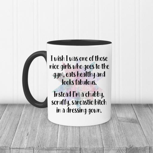I wish I was one of those girls Mug
