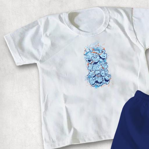 Cute Monsters DTG Kids Clothing