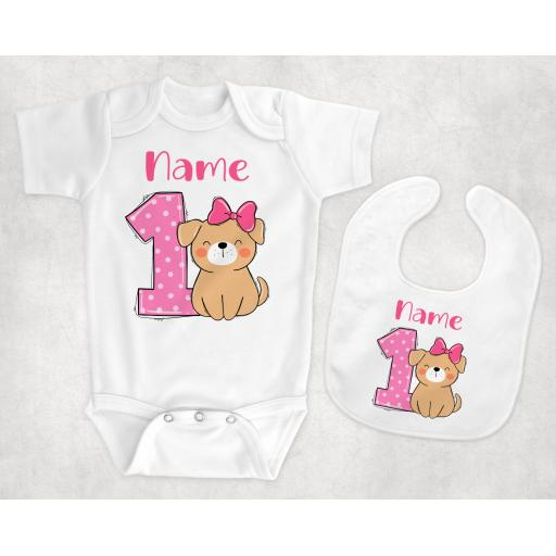 Number One Birthday Personalised Baby Clothing