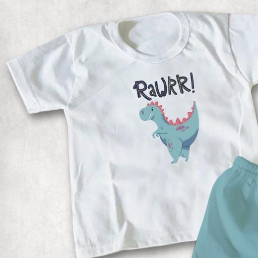 Rawrr Dinsoaur DTG Kids Clothing