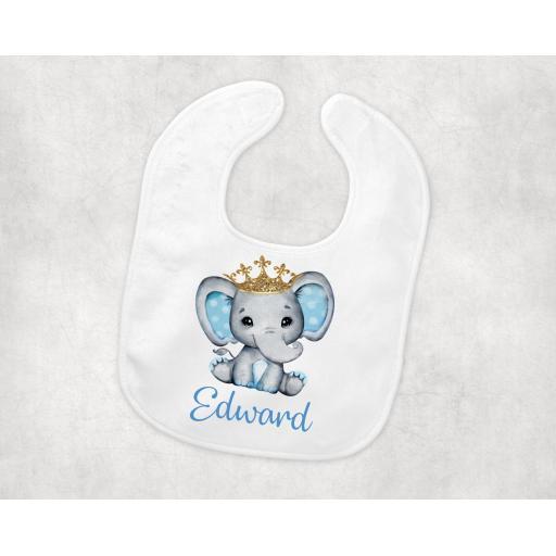 ble elephant crown BabyBib.png