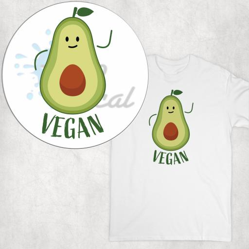 Vegan Avocado DTG Clothing