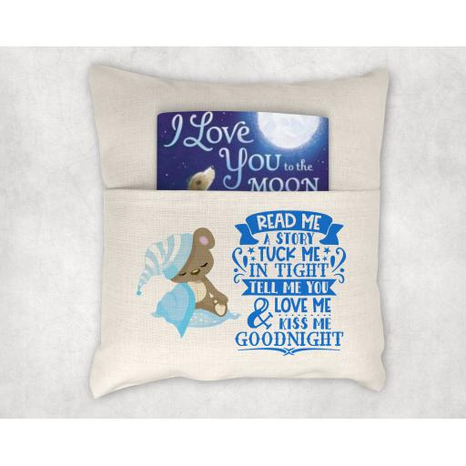 Read Me A Story Printed Cushion Cover